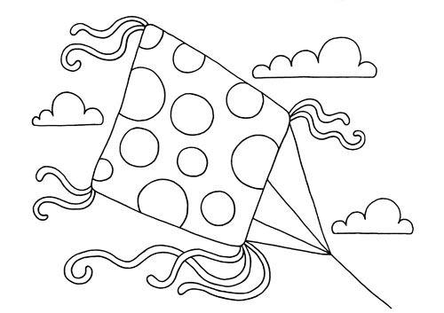 20 dessins de coloriage cerf volant imprimer - Cerf a colorier ...