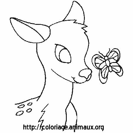 coloriage à imprimer cerf volant