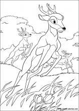 coloriage à dessiner de cerf
