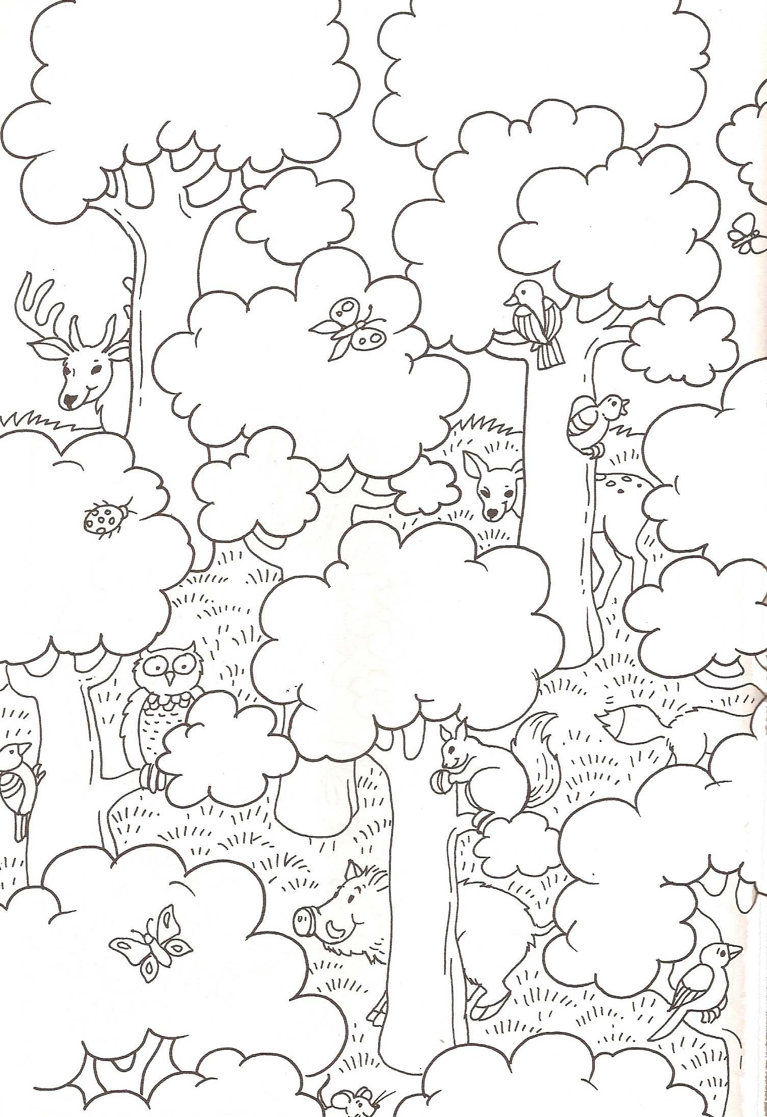 coloriage à dessiner de cerf gratuit a imprimer