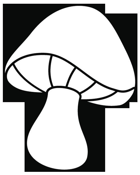Coloriage dessiner champignons imprimer - Dessiner un champignon ...