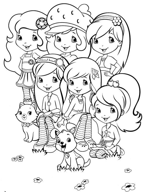 11 dessins de coloriage charlotte aux fraises et ses amies imprimer imprimer - Dessin charlotte aux fraises ...
