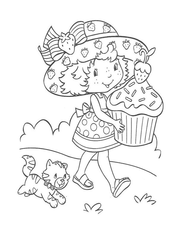 6 dessins de coloriage charlotte aux fraises princesse for Maison de charlotte aux fraises
