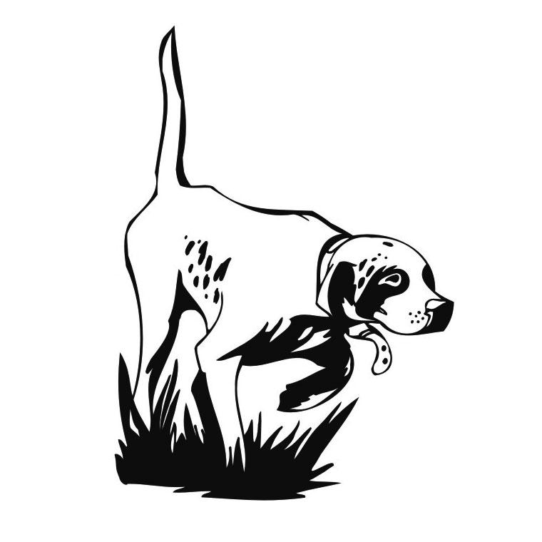 12 dessins de coloriage Chasseur Sanglier à imprimer