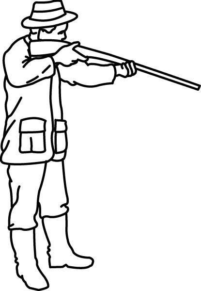 12 dessins de coloriage chasseur sanglier imprimer - Comment dessiner un train ...