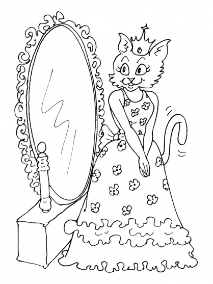 Coloriage de vrai chat a imprimer - Dessin a colorier un chat ...