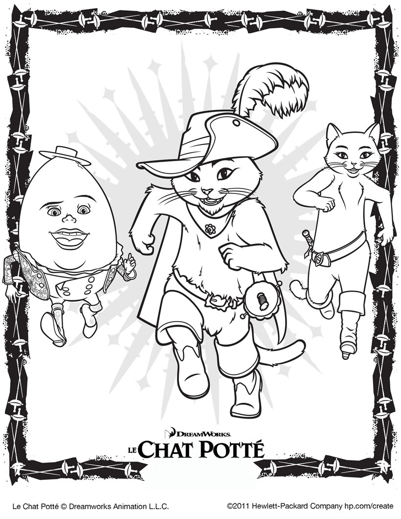 coloriage d'animaux chat