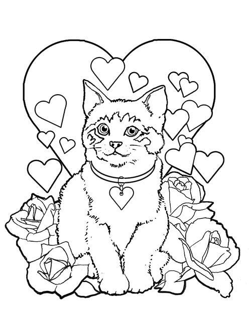 Coloriage les chats - Chat a colorier ...