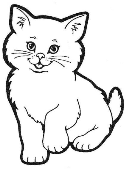 131 Dessins De Coloriage Chat A Imprimer