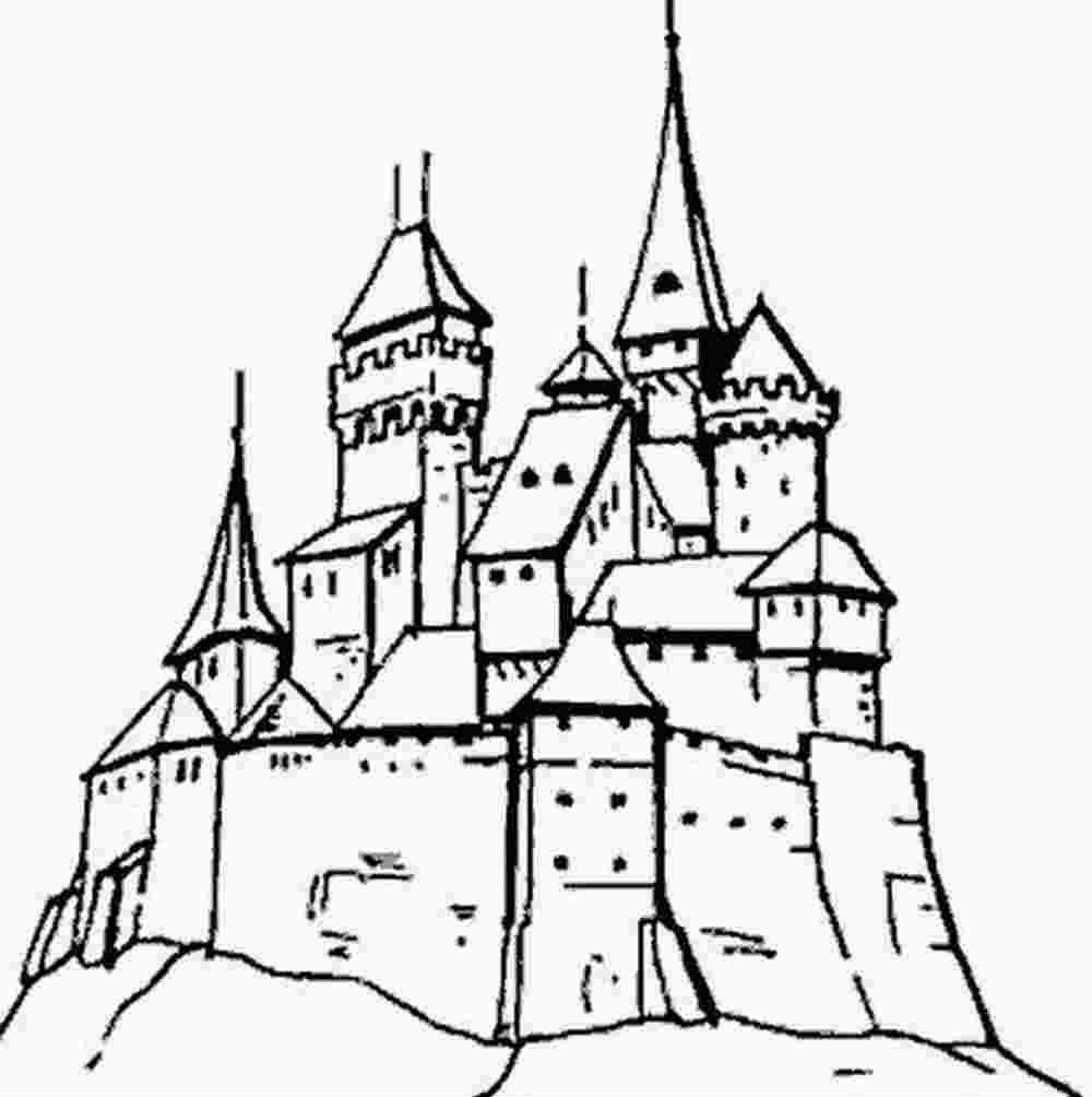 19 dessins de coloriage chateau a imprimer imprimer - Coloriage de chateau ...