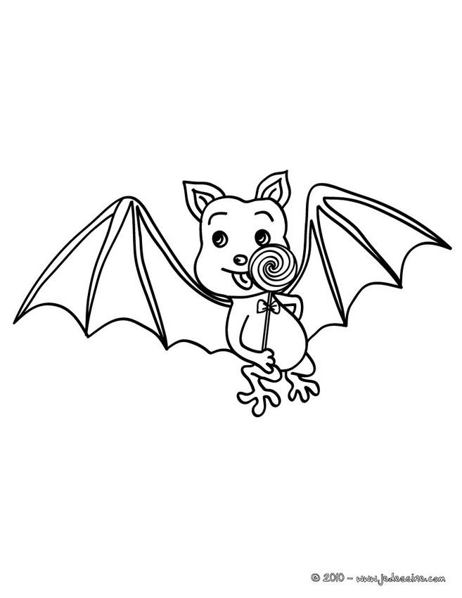 19 dessins de coloriage chauve souris rigolote imprimer - Chauve souris dessin ...