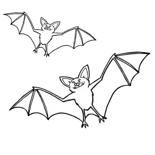 coloriage chauve souris batman