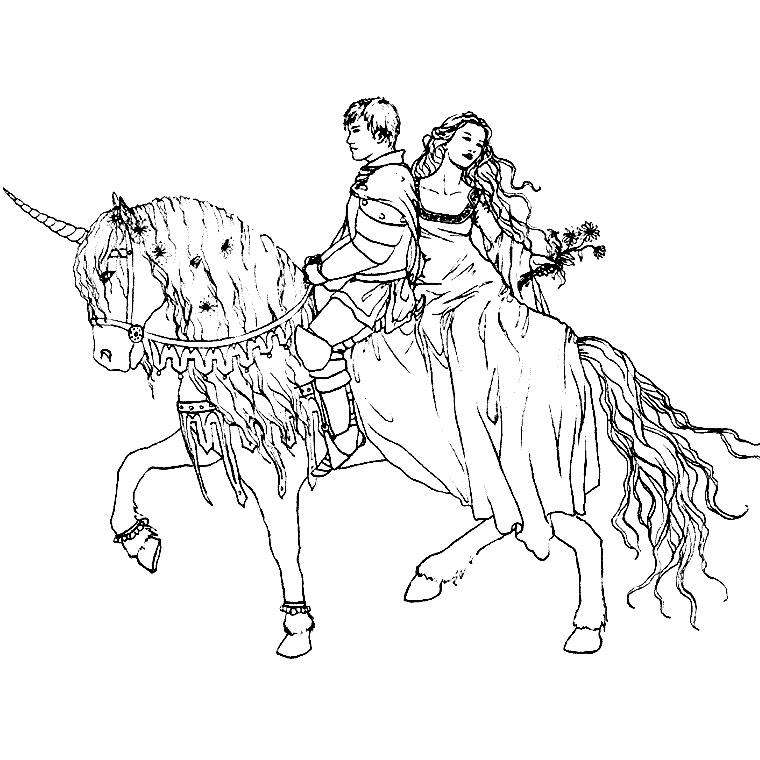 20 dessins de coloriage Cheval Gratuit à imprimer