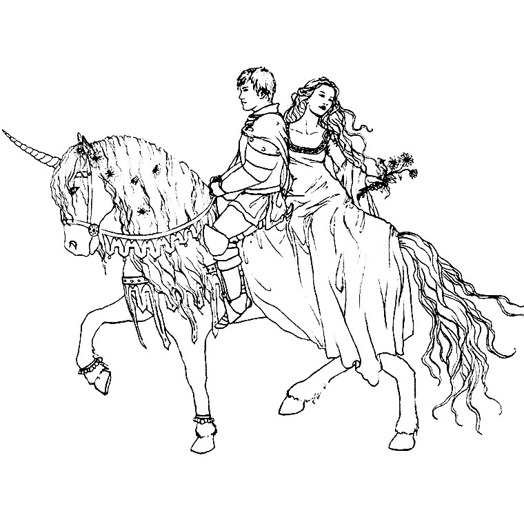 Coloriage De Chevalier A Cheval.Coloriage Chevalier Playmobil