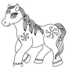 colorier un cheval