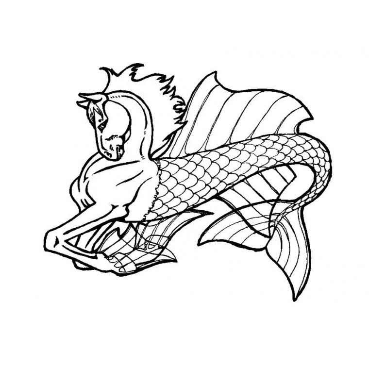 Coloriage De Cheval Avec Des Ailes.Coloriage Cheval Horseland