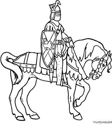 20 dessins de coloriage chevalier imprimer gratuit imprimer - Babouin et belette ...