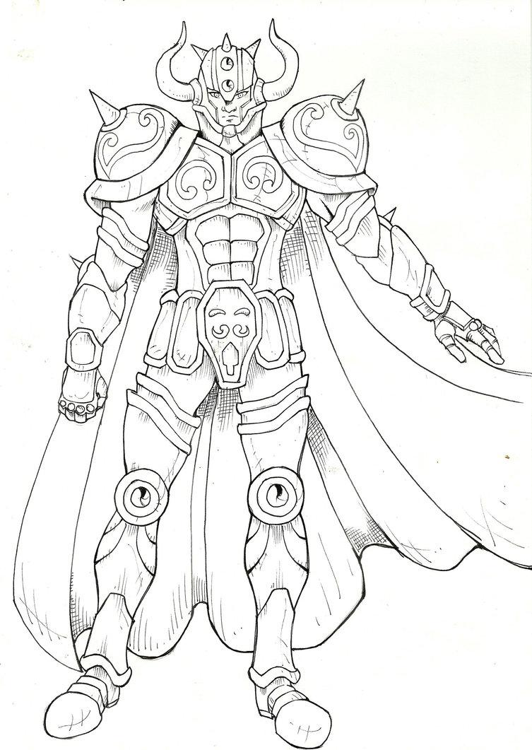 20 dessins de coloriage chevalier du zodiaque imprimer - Dessin chevalier du zodiaque a imprimer ...
