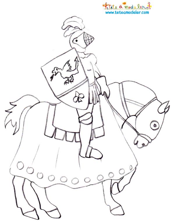 dessin chevalier du zodiac