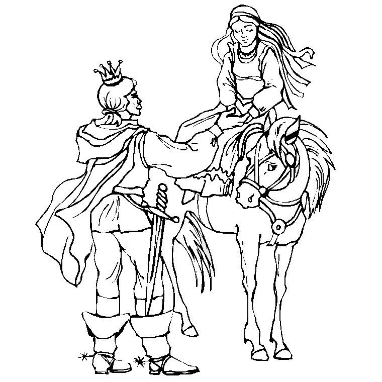 jeux dessin chevalier