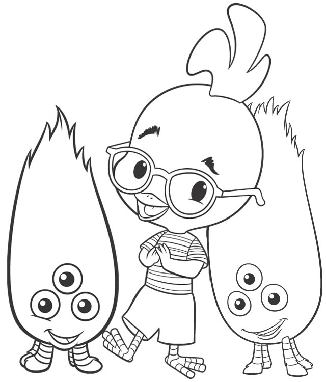 coloriage � dessiner chicken little imprimer