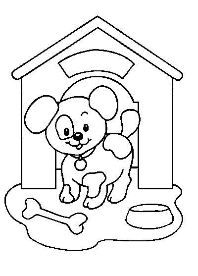 coloriage chien bleu nadja