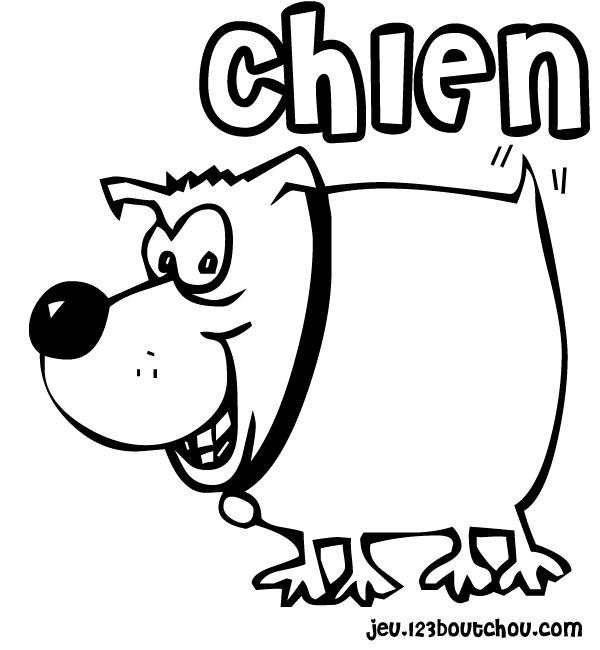 126 dessins de coloriage chien imprimer - Coloriage de chiot a imprimer ...