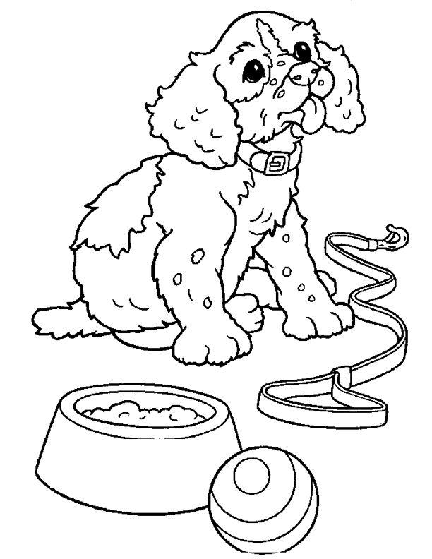 coloriage chien griffon