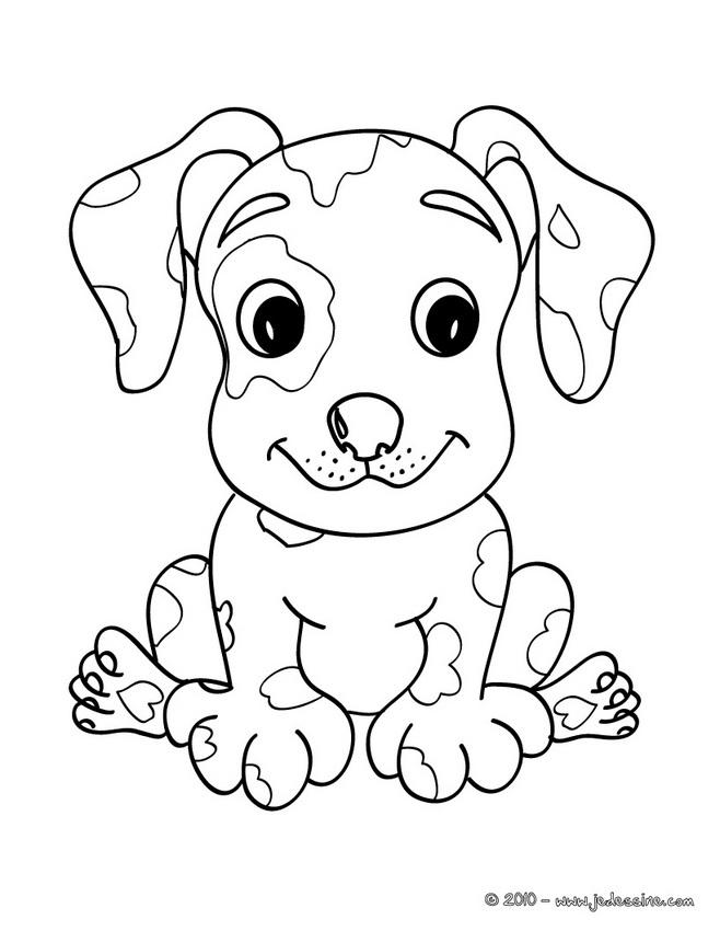 coloriage a imprimer chien jack russel