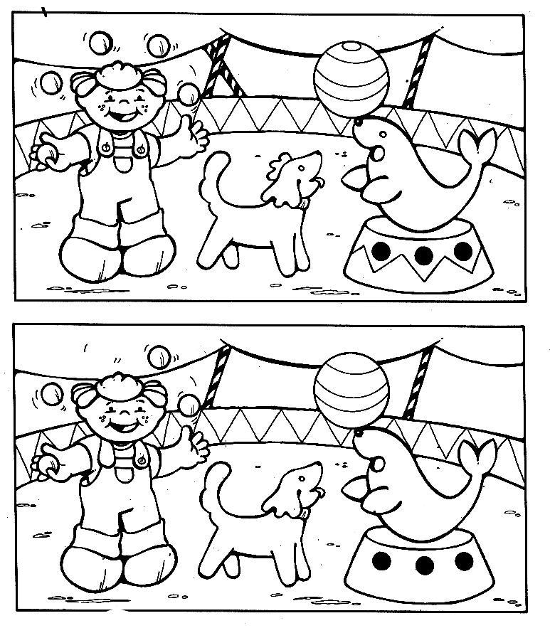dessin à colorier cirque du soleil