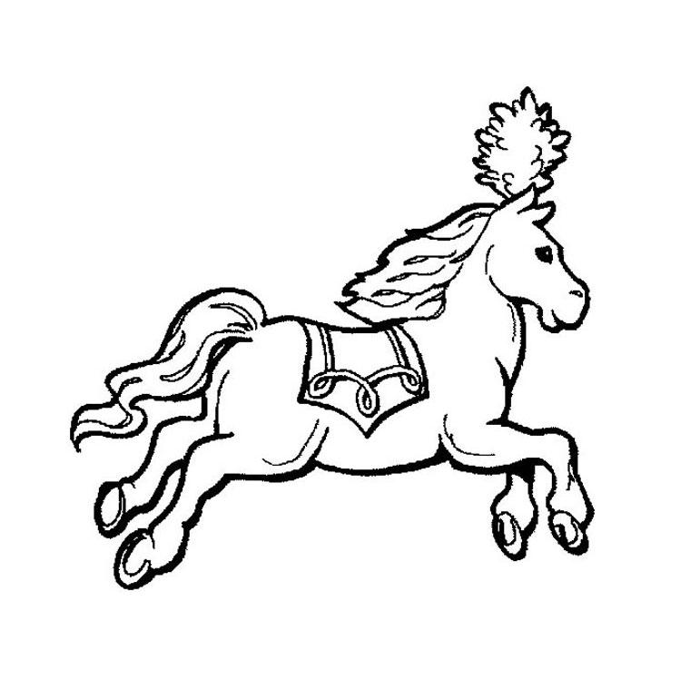 dessin cirque pinder imprimer