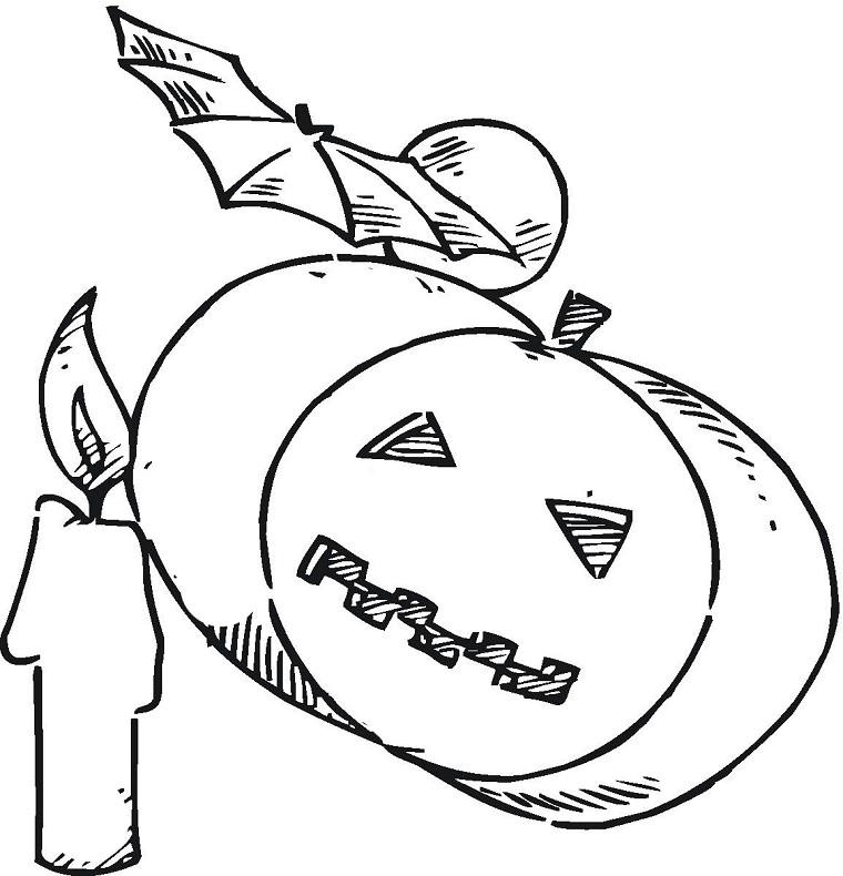 Coloriage Citrouille A Imprimer Halloween