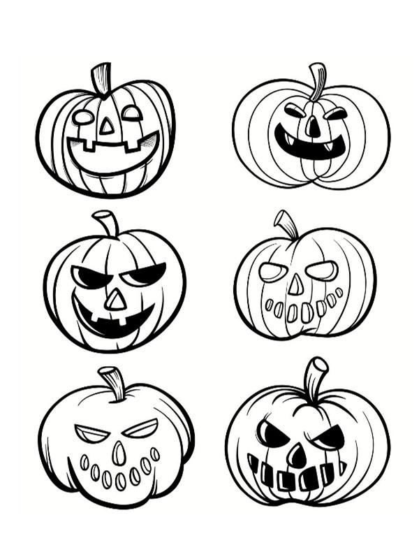 Coloriage citrouille halloween gratuit imprimer - Dessin halloween a imprimer ...
