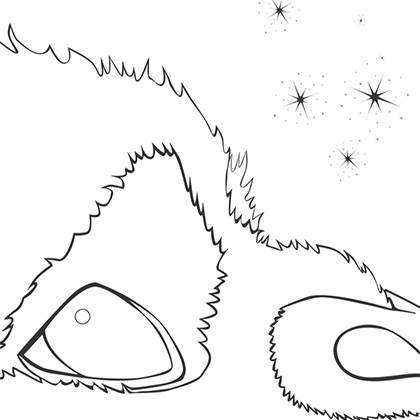 dessin à colorier la fée clochette et la créature légendaire
