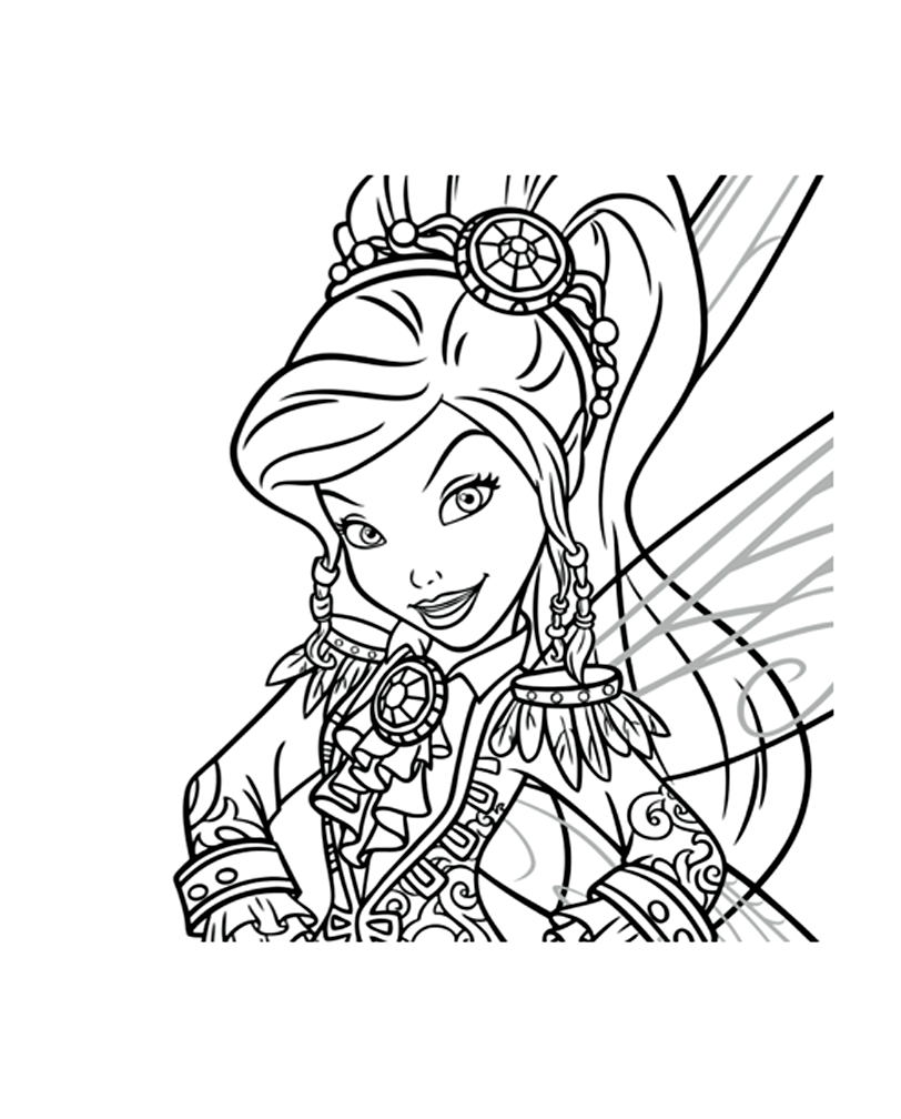 113 dessins de coloriage clochette et la f e pirate imprimer - Dessins fee clochette ...