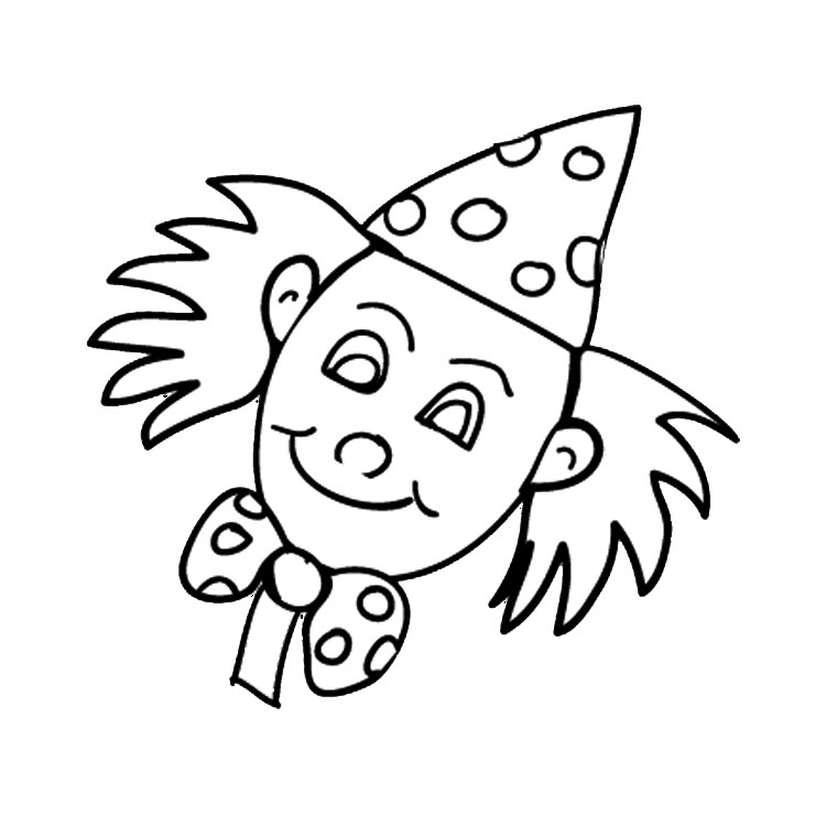 coloriage krusty le clown