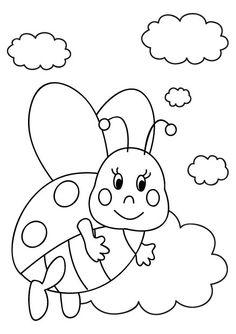 95 dessins de coloriage coccinelle imprimer gratuit imprimer - Dessin cocinelle ...