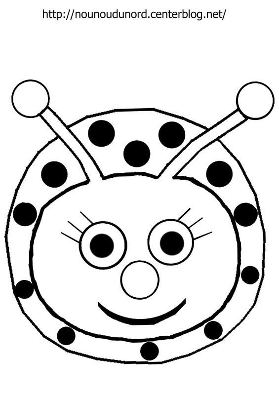 94 dessins de coloriage coccinelle en ligne imprimer - Dessin coccinelle ...