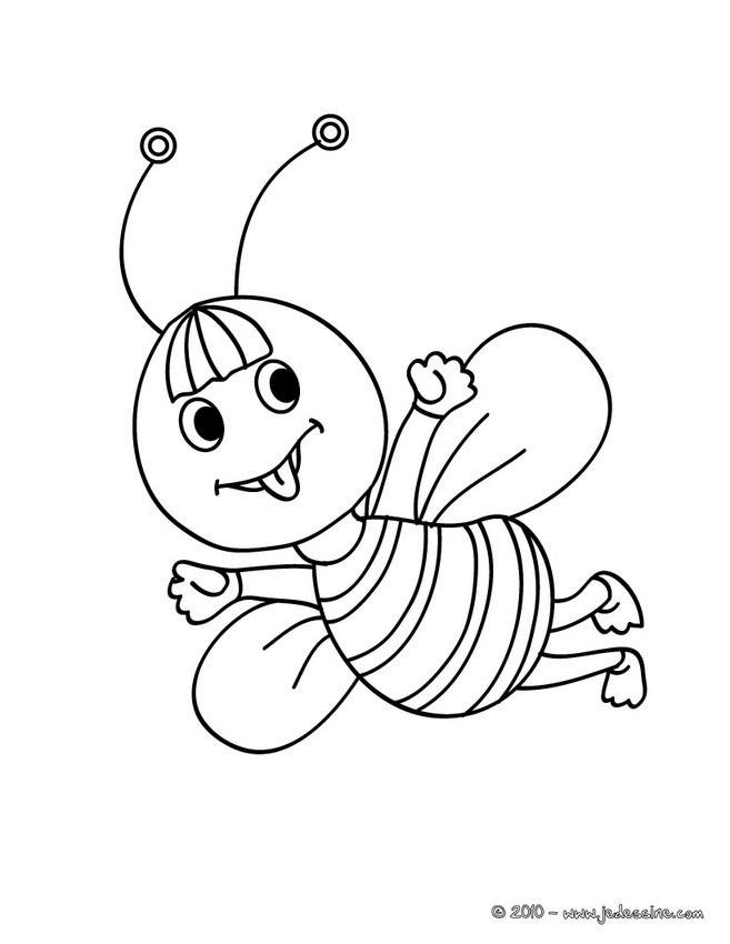 99 dessins de coloriage coccinelle maternelle imprimer - Dessin d insectes a imprimer ...