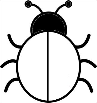 91 dessins de coloriage coccinelle sans points imprimer - Dessin coccinelle ...