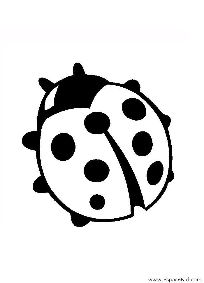 dessin à colorier pet shop coccinelle imprimer