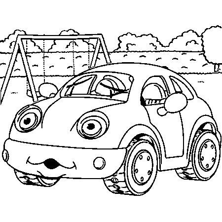 Coloriage Coccinelle Volkswagen.Dessin A Colorier D Une Coccinelle