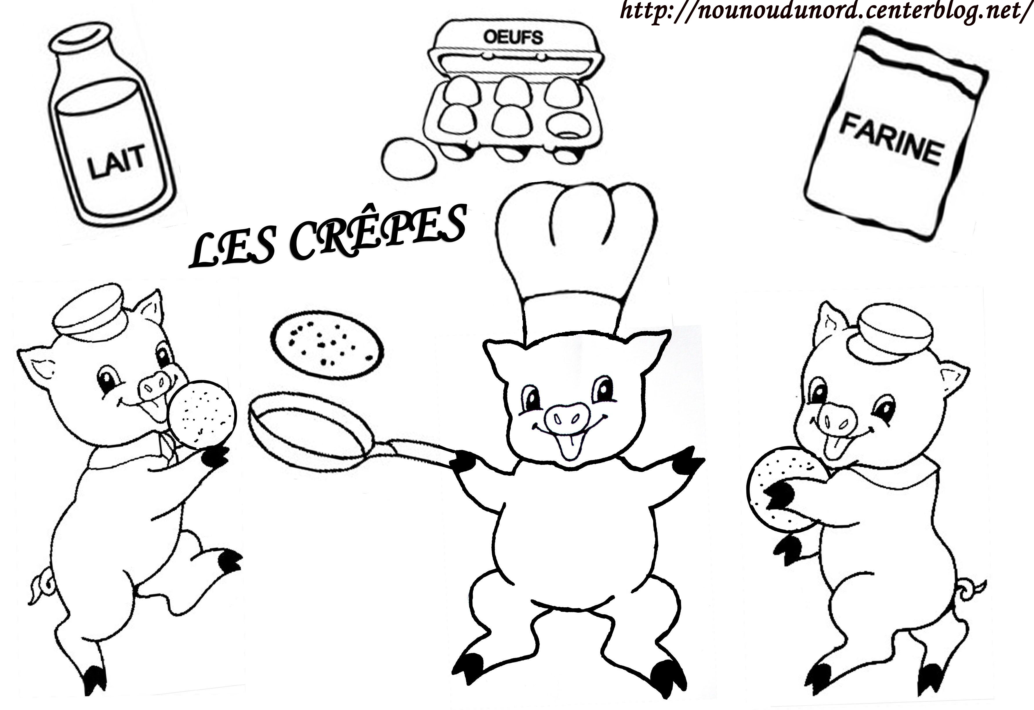 Coloriage 3 cochons - Photo de cochon a imprimer ...