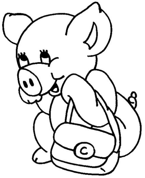 Coloriage dessiner spider cochon - Dessin cochon debout ...
