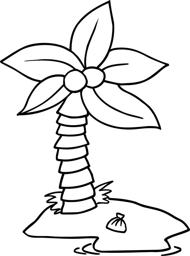 16 dessins de coloriage cocotier imprimer  u00e0 imprimer