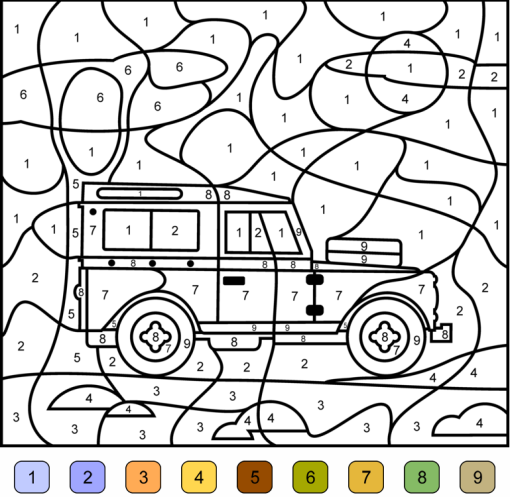 coloriage cod� ps maternelle