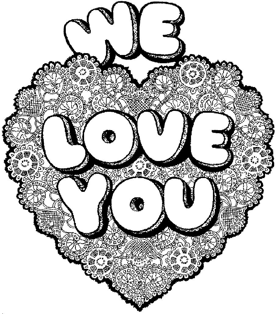 38 dessins de coloriage coeur imprimer - Image de coeur a colorier ...