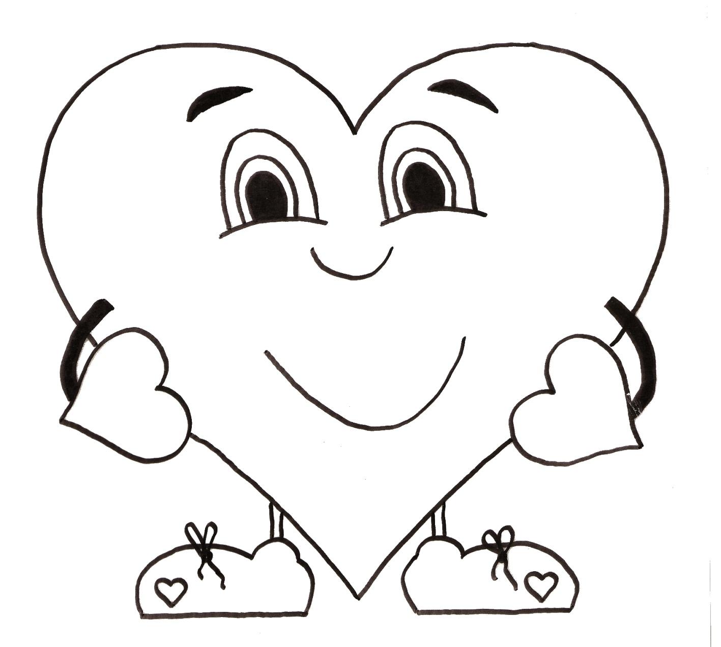 Coloriage coeur hugo l 39 escargot - Dessin coeur humain ...