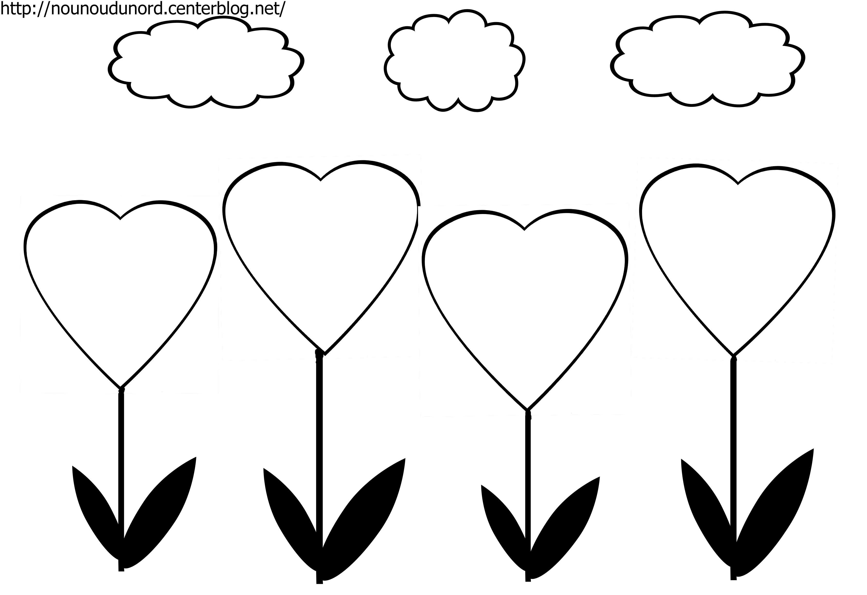 33 dessins de coloriage coeur imprimer - Desin de coeur ...