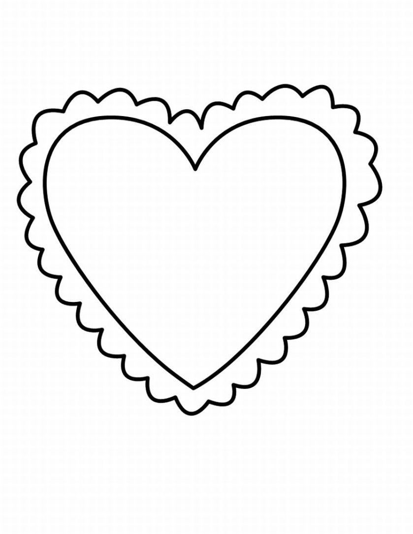 colorier un coeur d'amour